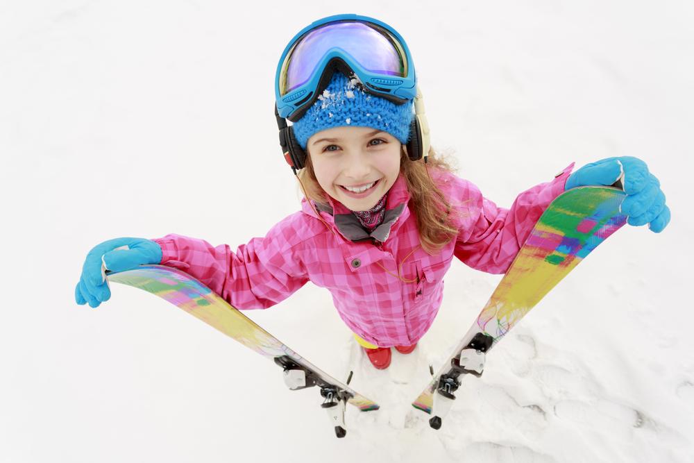 lyžovačka, deti, printové médiá, prečítaj online, šarmantná žena, zimná dovolenka, lyže, deti, dovolenka, zima