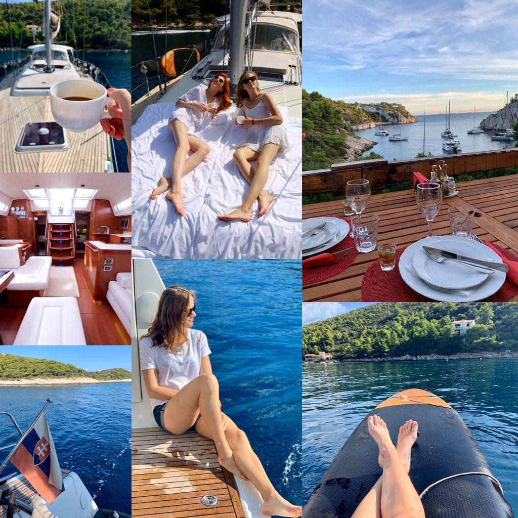 printovemedia,precitaj.online, luxurysailing,oddych, jello, dovolenka, chorvatsko, jachta, plavba, more, paddleboard, zabava, kava, vino